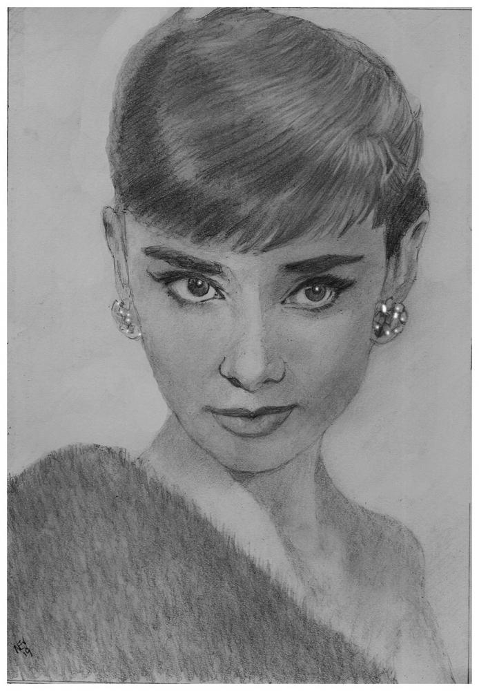 Audrey Hepburn par nev777